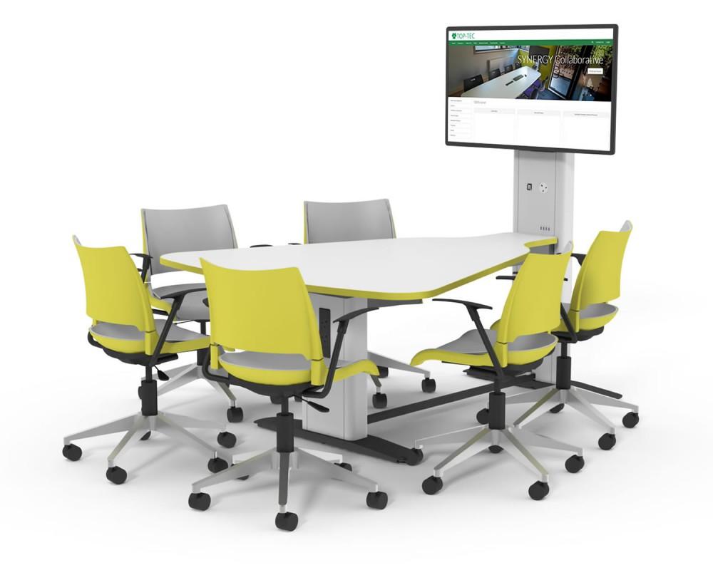 Synergy Plectrum salle réunion huddle room table espace collaboratif