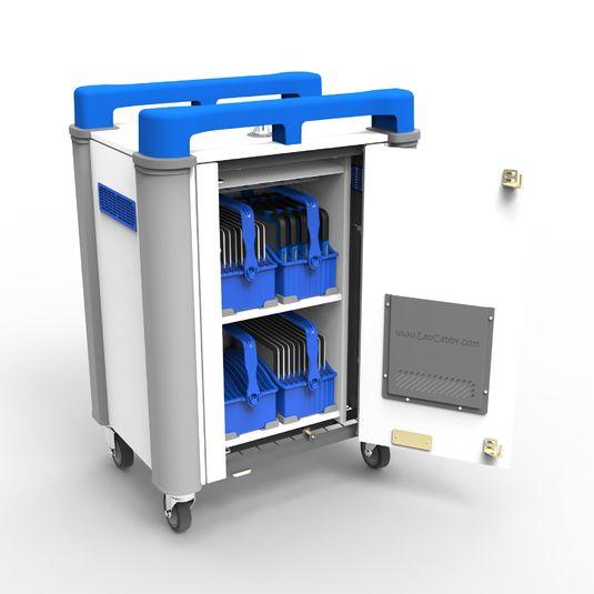 Chariot de recharge tablettes 20V chariot transport rechargement classe mobile