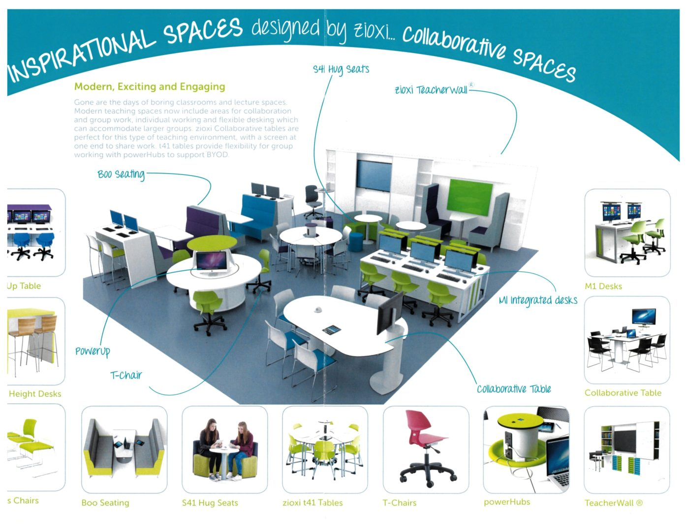 Espace collaboratif collaborative spaces