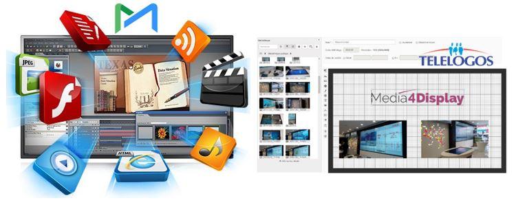 Logiciel affichage dynamique media4display