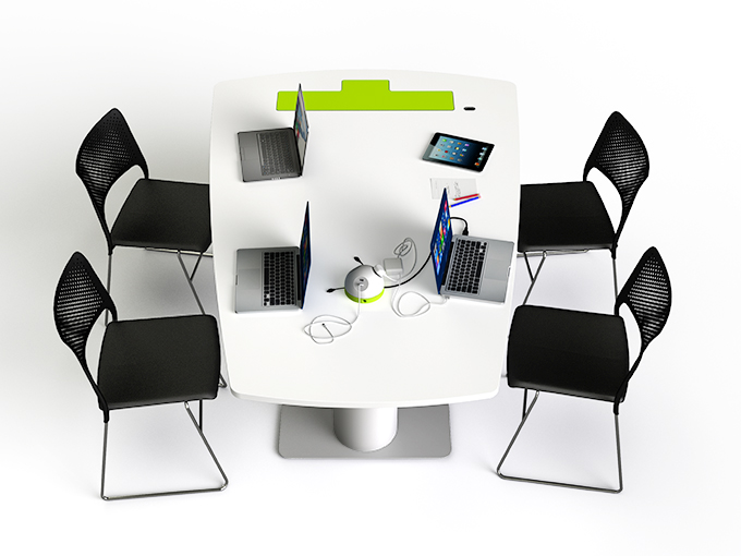 Table collaborative Zioxy