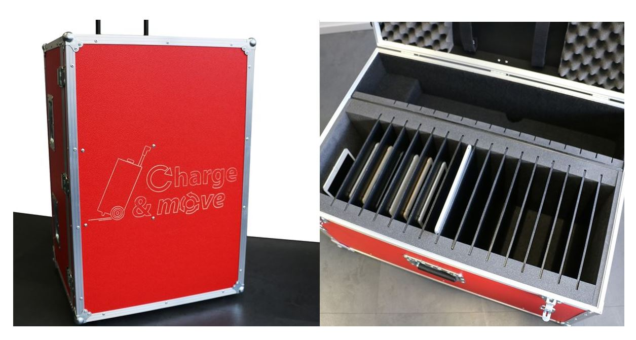 Valise Classe Mobile Tablette transport charge
