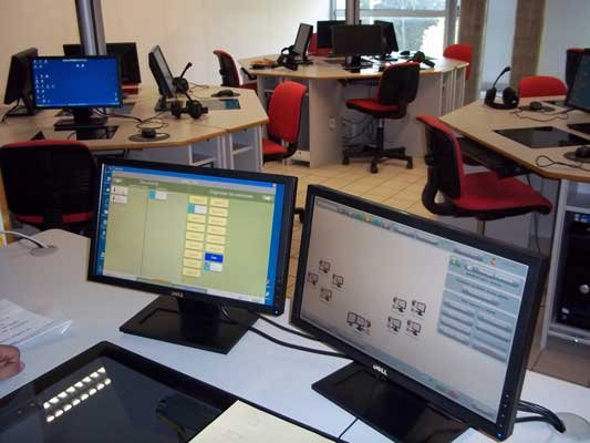 labo multimedia laboratoire de langue salle pluridisciplinaire