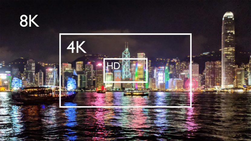 moniteur écran 8K 4K HD