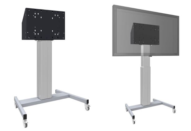 On wheels - Smart metals support écran moniteur